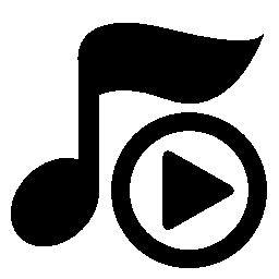 再生音楽プレーヤー ボタン無料アイコン