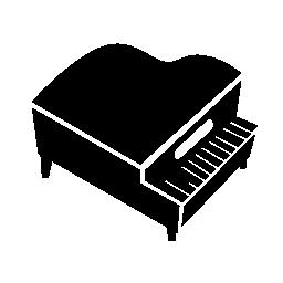 グランド ピアノ無料アイコン