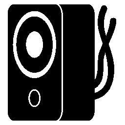 音楽スピーカー コード無料アイコン
