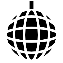 音楽ディスコ ボール無料アイコン
