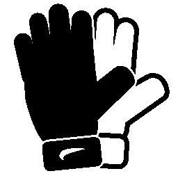 サッカー スポーツ手袋無料アイコン