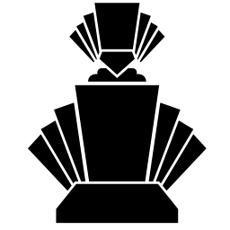 幾何学的図形の無料アイコンの香水瓶