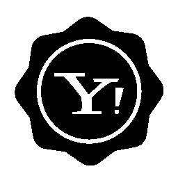 ヤフー社会バッジ無料アイコン
