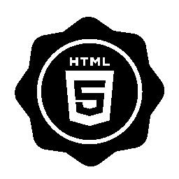 HTML 5 バッジ無料アイコン