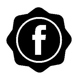 Facebook の社会的なバッジの無料のアイコン