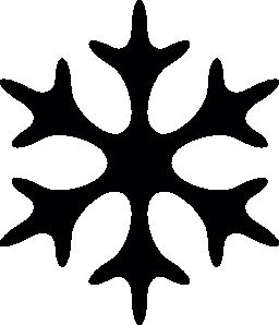 スノーフレーク クリスマス星の形の無料アイコン