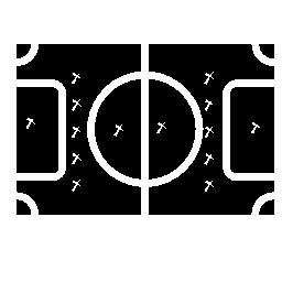 フィールド無料アイコンのサッカー ゲームの計画
