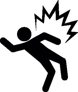 電気ショックのリスクの無料のアイコン