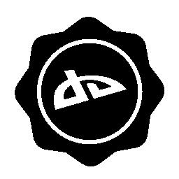 Deaviantart 社会バッジ無料アイコン