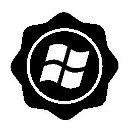Windows 社会バッジ無料アイコン