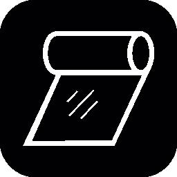 黒い正方形の背景無料アイコンを組織ロールの概要