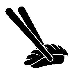 日本無料アイコンから箸と寿司