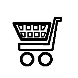 ショッピング カートの電子商取引ツール無料のアイコン