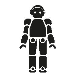 日本の無料アイコンのロボット