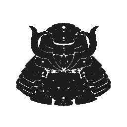 サムライ日本の無料アイコンの頭