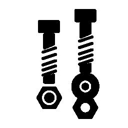 機械部品の無料アイコン