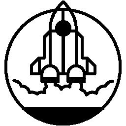 位置無料アイコンの進水のロケット船概要