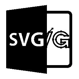 SVG ファイルを開く形式無料アイコン