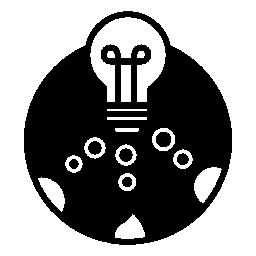 無料ベクトルのアイコンの最大のデータベース無料のアイコンを小さな円と円の電球