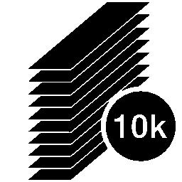 ミニ紀元前 10 k 文具無料アイコン