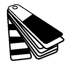 印刷の色チャート無料アイコン
