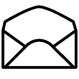 封筒を開く概要無料アイコン