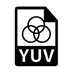 YUV ファイル形式は、バリアント無料アイコン