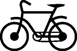 都市バイク無料アイコン