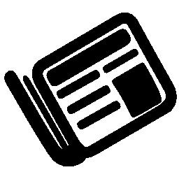 小さな新聞社の無料のアイコン