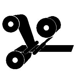 印刷ロール無料アイコン
