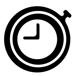 小さな時計無料アイコン
