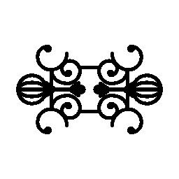 観賞用の対称デザイン無料のアイコン