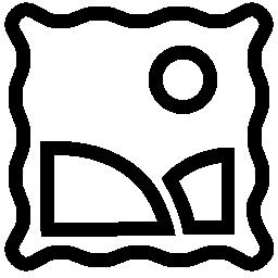スタンプの無料アイコン