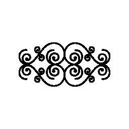 花樹デザイン ミラー効果無料アイコン