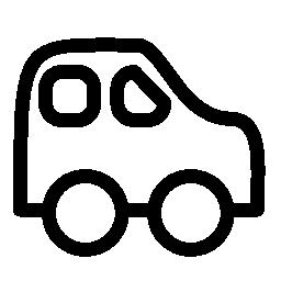 車の赤ちゃんグッズ概要無料アイコン