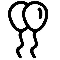 風船カップル無料のアイコン