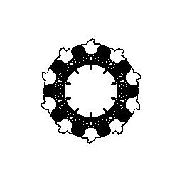 円形のデザイン無料のアイコンの花