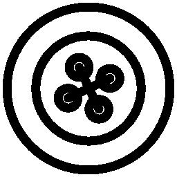 円形のボタン無料アイコン