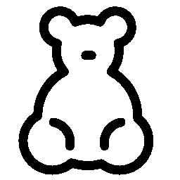 赤ちゃんクマ グッズ無料アイコン