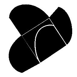 段ボールの折り畳まれ 4 つの無料のアイコン