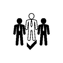 リーダーシップの無料アイコン