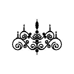 螺線形の花柄のデザイン無料のアイコン