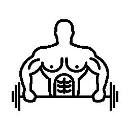 体操の練習の無料のアイコン