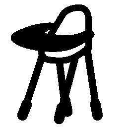 赤ちゃんの授乳椅子バリアント無料アイコン