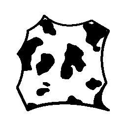 牛の皮膚の無料アイコンを染色