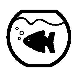 魚ボウル無料アイコン