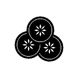 スパ リラックス シンボル無料アイコン