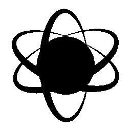 Atom シンボル無料アイコン