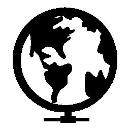 グローバル マップ無料アイコン