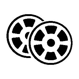 映画の映画の無料のアイコン